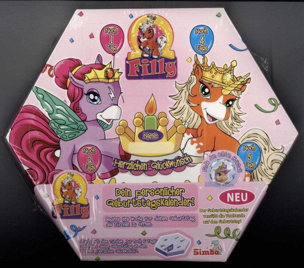 Filly World Geburtstagskalender