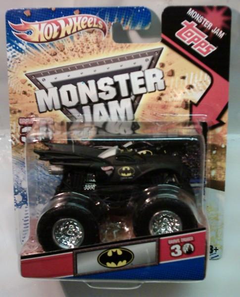Hot Wheels Monster Jam mit Batman-Logo