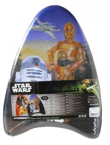 STAR WARS Schwimmbrett (Kickboard) m. R2-D2 und C3PO