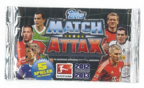 topps MATCH ATTAX 2012/2013 Booster