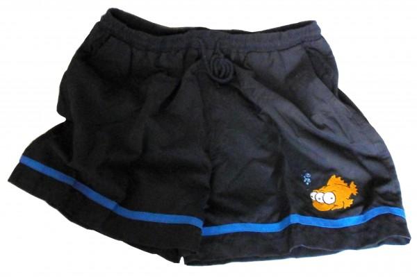 Simpsons Bermuda-Badehose, 3-äugiger Fisch, Gr. M