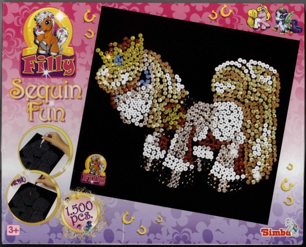 Filly Sequin Fun = Pailletten-Bild