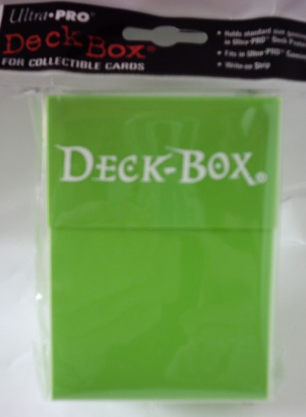 Deck Box light green, Ultra Pro