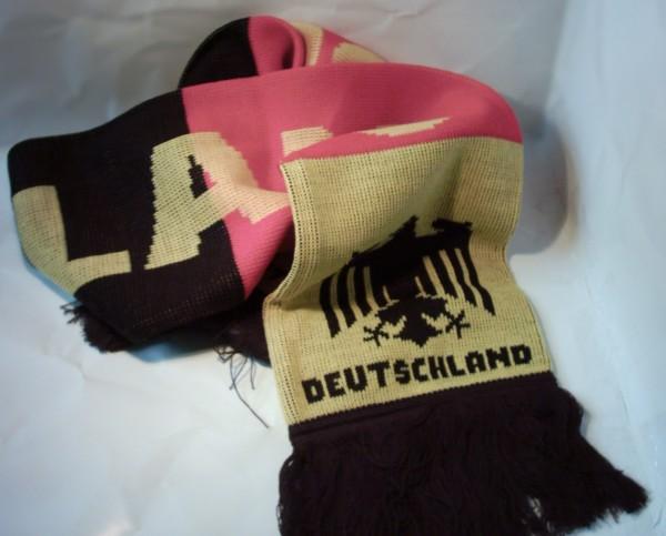 Deutschland Schal, gestrickt